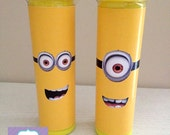 Instant Download - Mini M&M's Tube Wrappers - Minion Party Favours