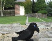 Nevermore Raven felt sewing pattern pdf download