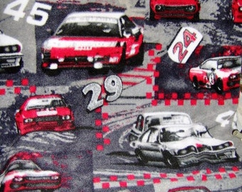 NASCAR Full or Twin Checkered Fleece Blanket