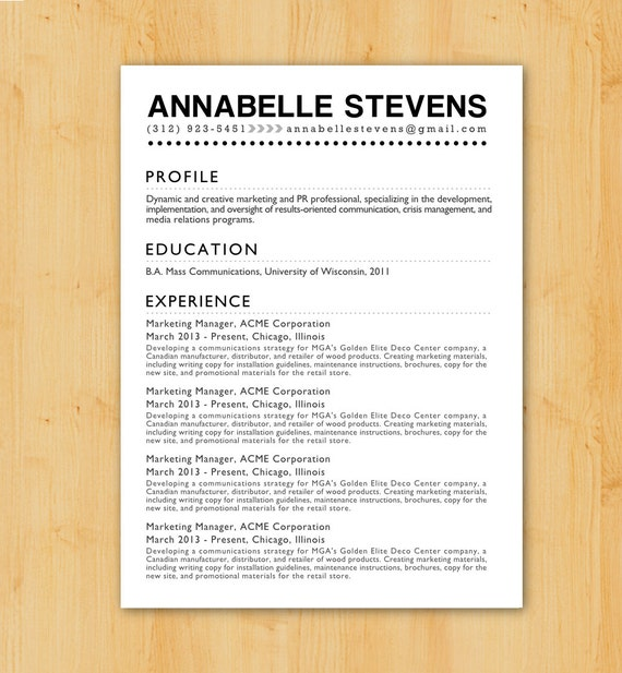 custom resume writing university