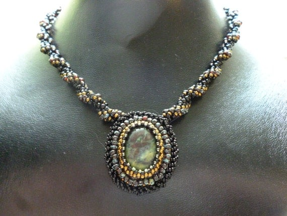Dragon's Stone Beaded Necklace