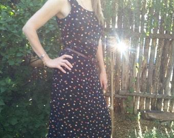LAUNDRY by Shelli Segal Black Floral Maxi Dress