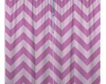 Purple Curtain Panels, Window Curtain Chevron, Bathroom Window Curtains, Purple Window Curtains, Eloquent Innovations #1