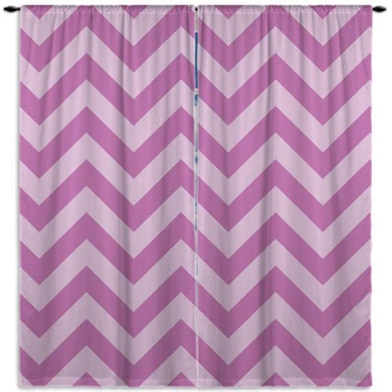 Dusche Wandverkleidung Gfk : Purple Chevron Window Curtains