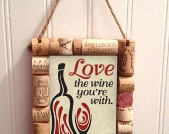 Wine Cork Framed Art