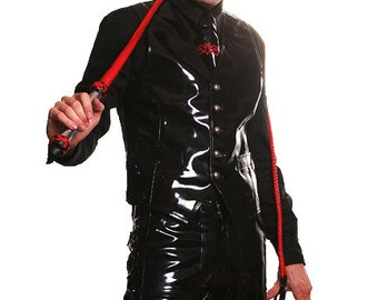 STEAM VEST Black PVC