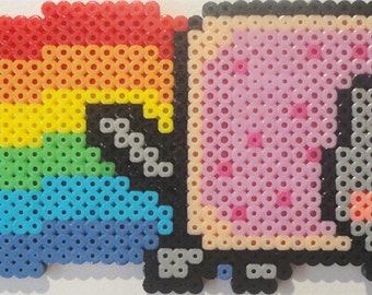 Nyan Cat Bead Sprite