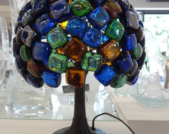 Lamp Cristal Tiffany Style Stained Glass