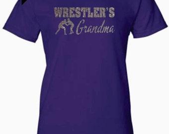 WRESTLER'S GRANDMA Women's T-Shirt - Free Shipping