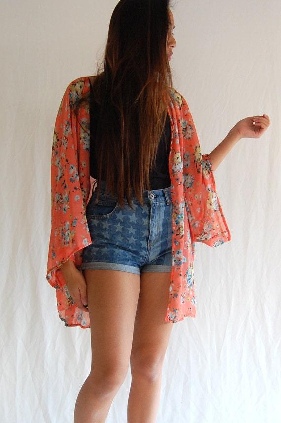 Flower Kimono Cardigan