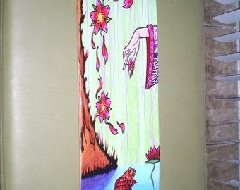 Skateboard Deck Art by Erick D. Marquez - Nalini's Little Treat