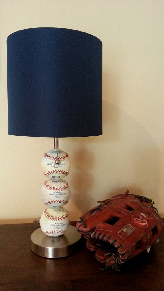 Baseball Themed Table Lamp