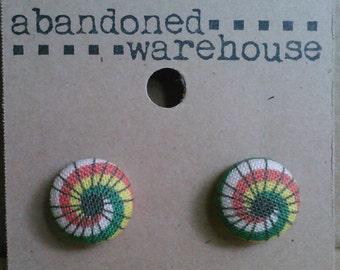 Serenity Parasol post earrings