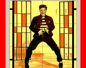 Elvis Presley THE King jailhouse rock Colorful  Poster print art  HH10501 S38