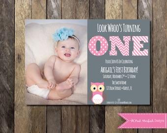 1st Birthday Invitation Maker. First Birthday Invitations Baby ...