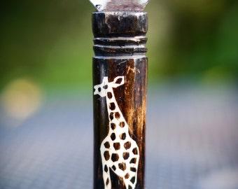 Handmade Giraffe Bottle Opener from Kenya - FAIR TRADE