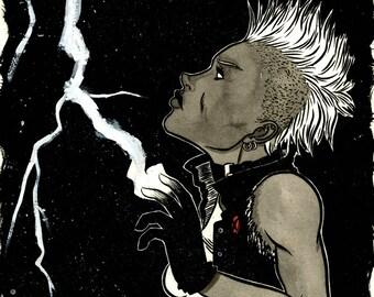 Storm Original Drawing
