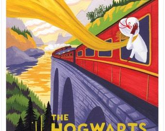 Hogwarts Express Giclee Print