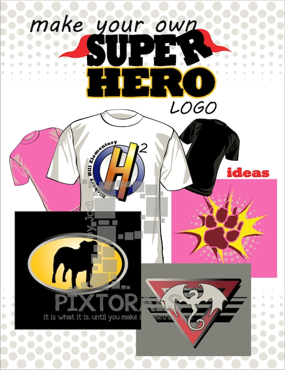82 graphics super hero logos create your own super hero logo for Draw my own logo