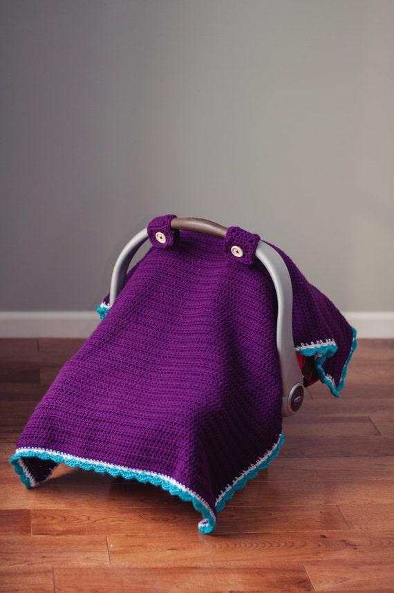 & Car Seat Canopy Crochet Pattern from SkinnyKittyCrochet on Etsy Studio
