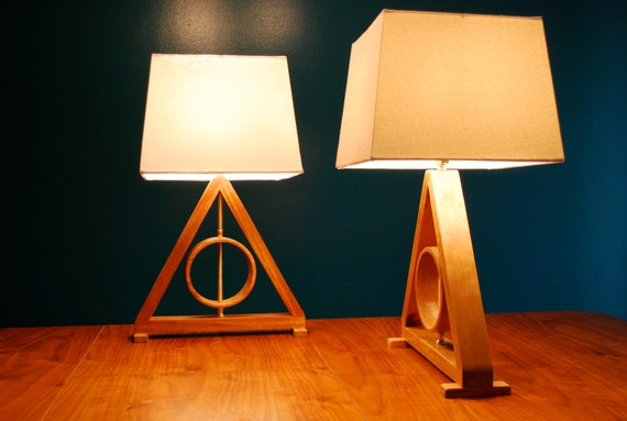 Harry Potter Deathly Hallows Table Lamp Harry Potter Kids Lamp