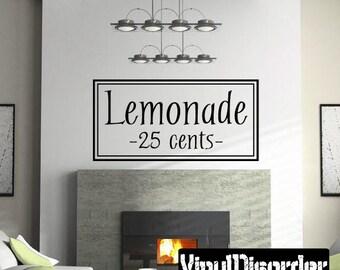 Lemonade 25 Cents Etsy