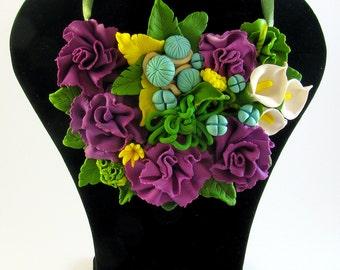 """Necklace """"Floral Fantasy"""""""
