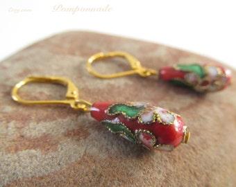 2703 - Earrings Chinese Pearls