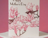 Japanese Magnolia Mother's Day Card