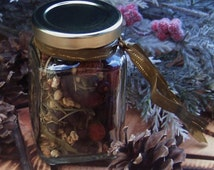 WINTER MAGIC BAYBERRY Witch's Simmering Brew for Yule Sabbat Celebration, Yuletide Holiday Season, Prosperity, Abundance