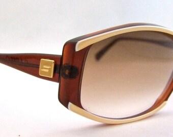 Safilo Azalea Sunglasses // Vintage Designer Eyeglasses // As new // Made in Italy // Safilo Azalea
