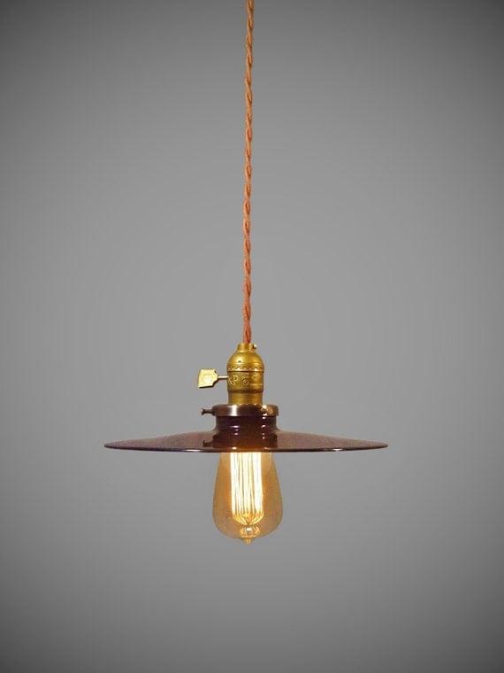 vintage industrial hanging light machine age