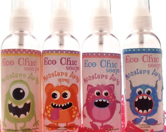 Monsters Away Spray - Room Spray - Room and Linen Spray Mist for Children of ANY AGE