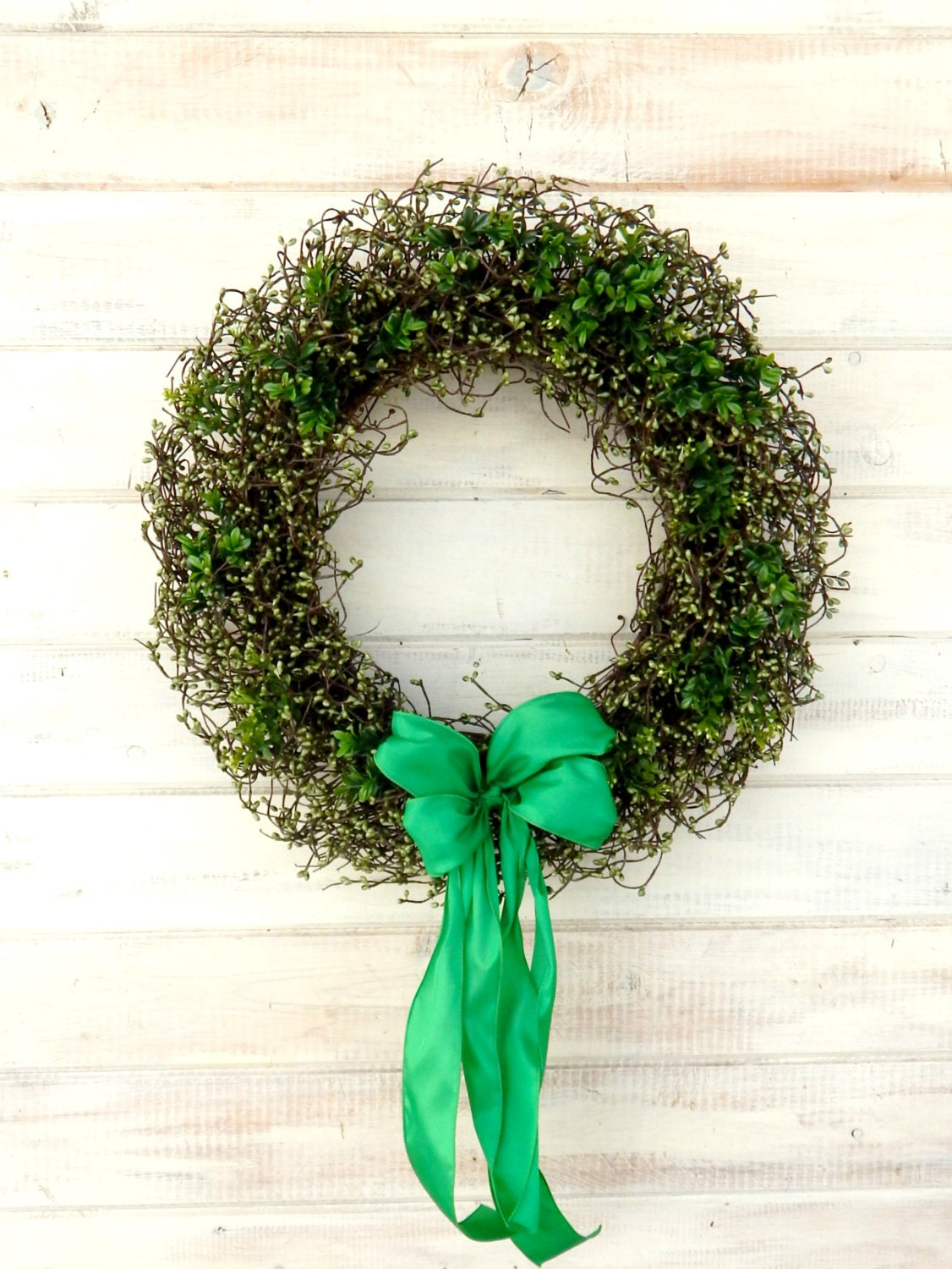St patricks day wreath spring wreath st patricks home for Shamrock decorations home