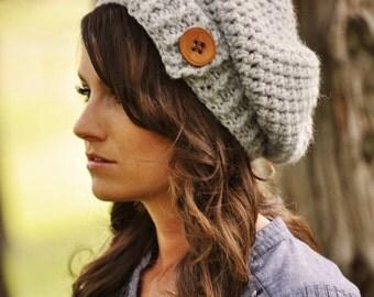 Womens Slouchy Hat, Crochet Slouchy Hat, Women's Hat, Women's Crochet Hat, Womens Accessories, Fall Fashion, Slouchy Beanie Hat