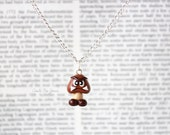 Goomba Necklace Super Mario Nintendo