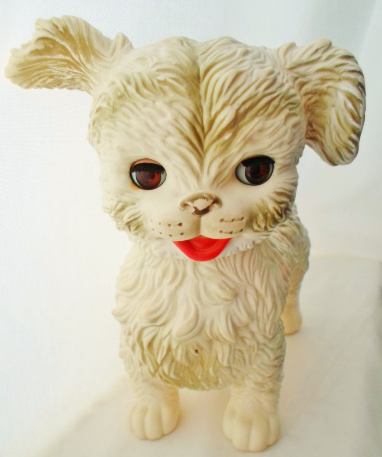 Vintage Rubber Squeak Dog Toy The Edward Mobley Co Mfb By