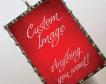 Custom Photo Night Light - Personalized Night Light - OOAK Nightlight with your image
