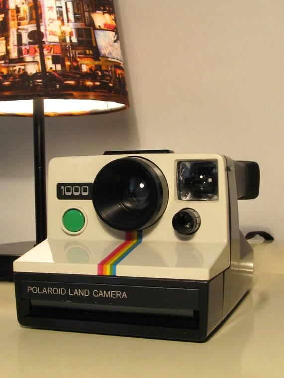 polaroid camera 1000 rainbow land camera sx 70 type by lalanterne. Black Bedroom Furniture Sets. Home Design Ideas