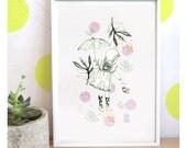"A5 A4 A3 Artprint ""Balade"" Izumi (Kinu serie) (limited edition)"