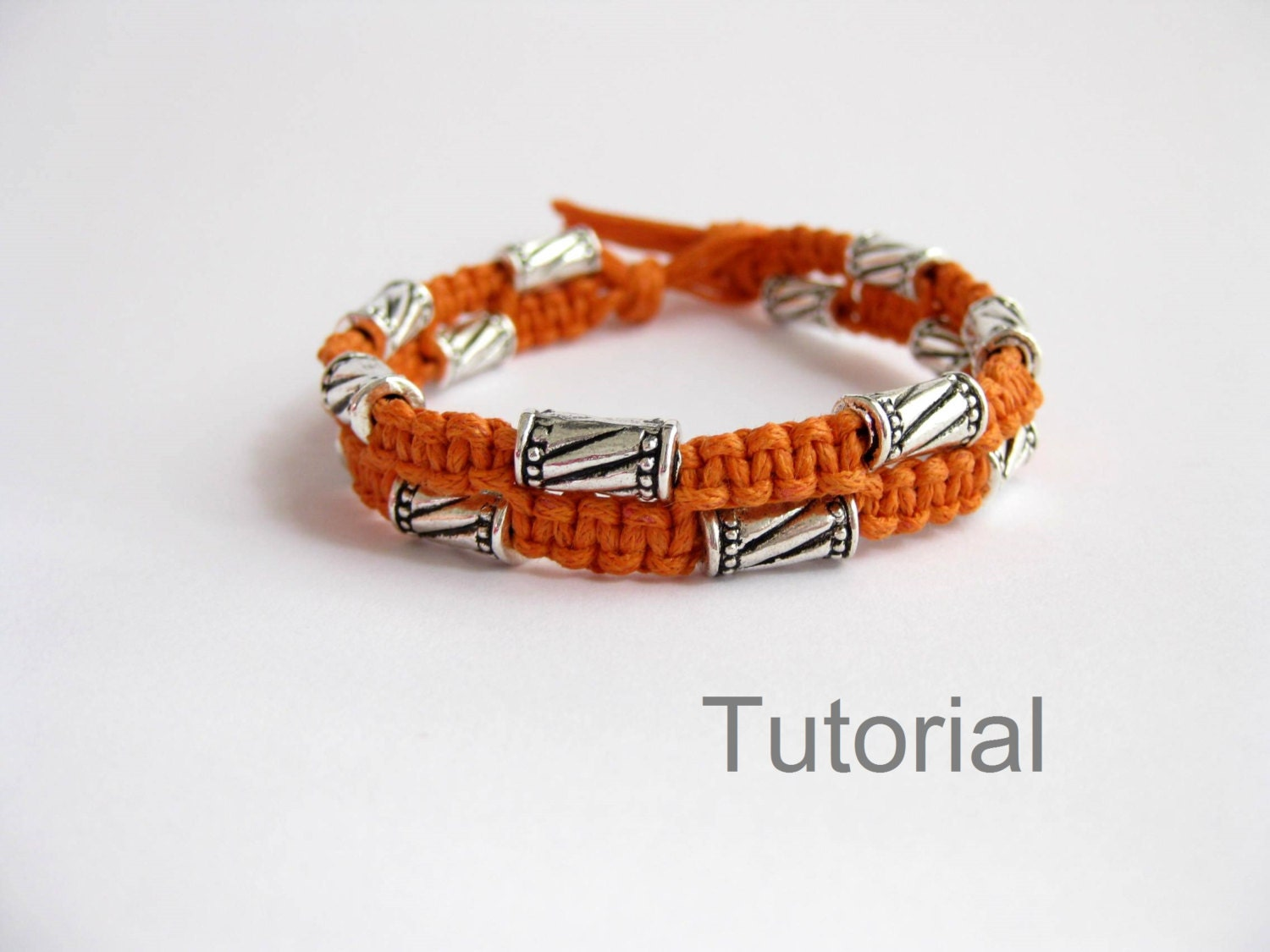 Bonus pattern macrame bracelet tutorial with bonus knotted