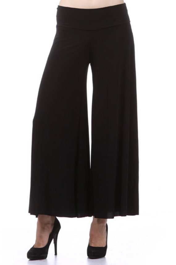 quality travelers dare2bstylish plus size gaucho pants.