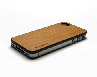 iPhone 4 Case Wood Cherry, Wood iPhone 4S Case Wood iPhone 4 Case, iPhone 4 Wood Case, iPhone 4S Wood Case, iPhone Case
