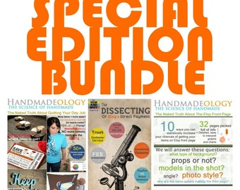 Special Edition Bundle - Quit Your Day Job - Etsy Front Page - Etsy Direct Checkout
