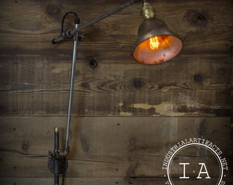 Wall Mounted Drafting Lamp : Popular items for drafting lamp on Etsy