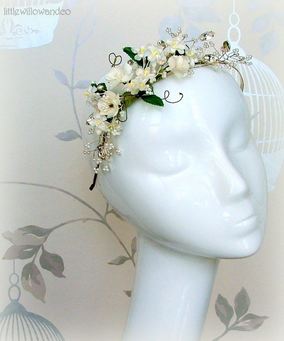 Floral Bridal Headdress : Unavailable listing on etsy