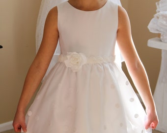 "First Communion Dress - Named ""Andrea"""