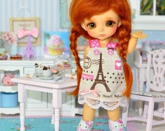 "Wig Sweet mohair for dolls Lati Yellow Pukifee Tonner Monster high BJD 5/6"""