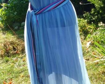 Dress Hi Low Dress Hand Dyed Dress