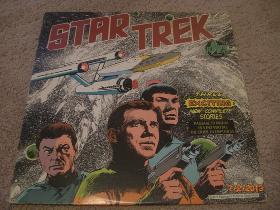 Star Trek Record Album From 1975 With Three Stories